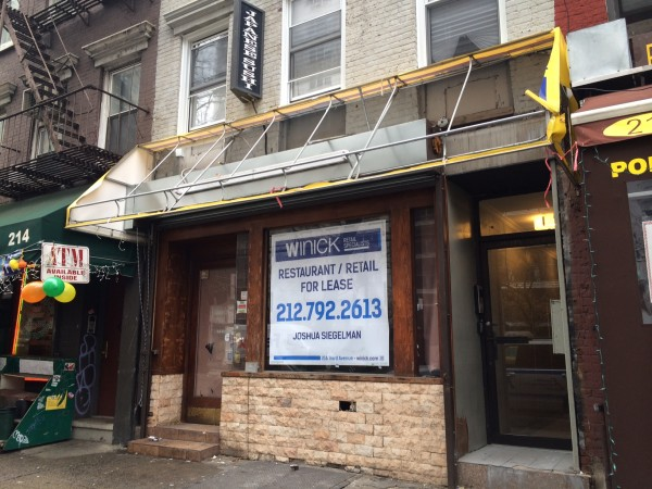 216 3rd avenue ground floor new york ny 10003 retail for lease
