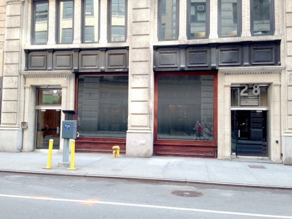 28 west 20th street ground floor new york ny 10011 retail for lease