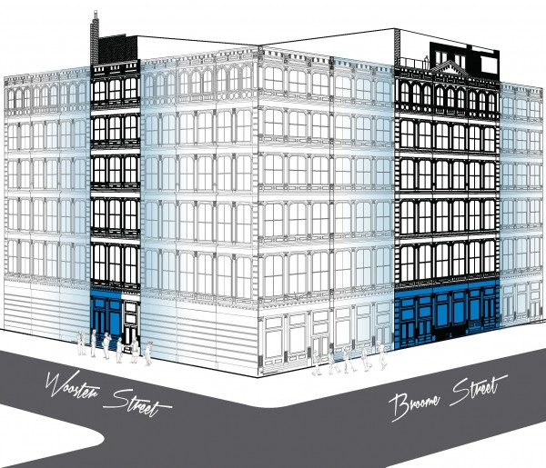 476 broome street space a new york ny 10013 retail for lease