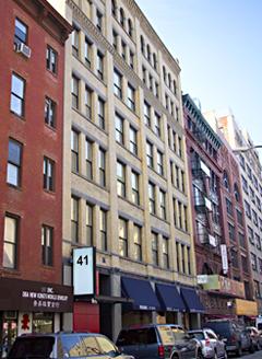 41 elizabeth street 503 new york ny 10013