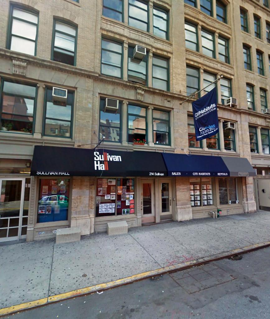 214 sullivan street new york ny 10012