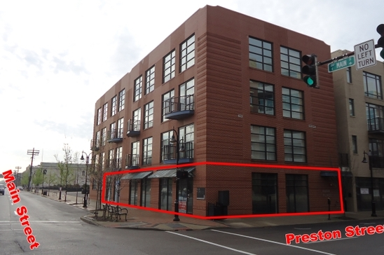 Slideshow big 400 east main street space 1 louisville ky 40202 retail for lease
