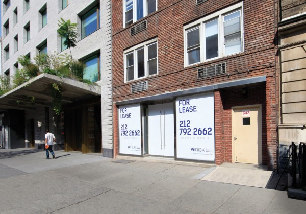 343 west 14th street ground floor new york ny 10014 retail for lease